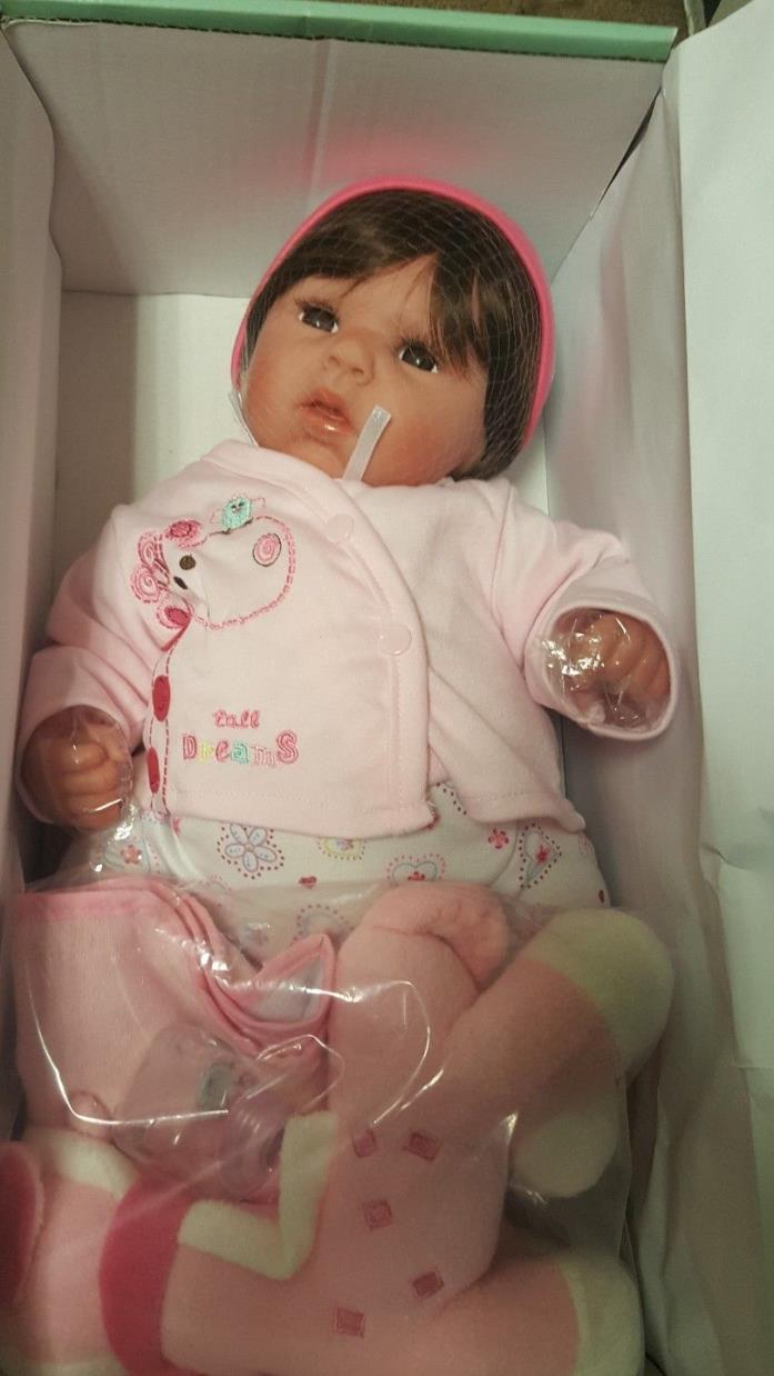 Paradise Galleries Lifelike Realistic Baby Doll, Tall Dreams Ensemble.