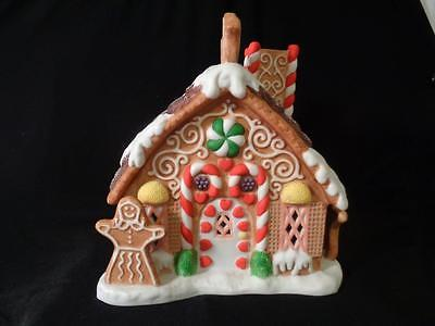 Partylite Gingerbread house tealight # P7304 in original box