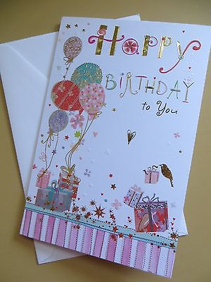 AMERICAN Greeting card Happy Birthday  (GORGEOUS )  TURNoWSKY