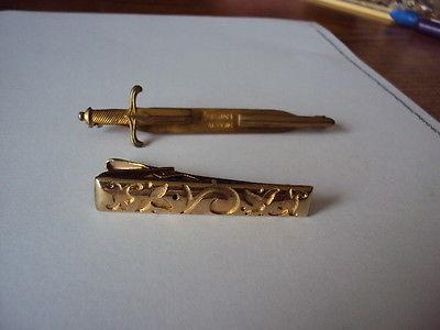 Vintage Kriesler Craft & Anson Tie  Clips