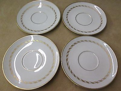 FRANCISCAN CHINA TEA CUPS MADE IN CALIFORNIA PLATES LOT OF 4