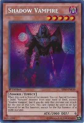 2x Shadow Vampire - SHSP-EN030 - Secret Rare NM Shadow Specters Single Card