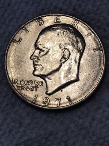 1971 Ike Silver Dollar