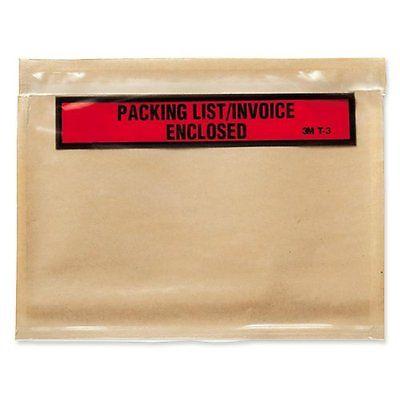 3M Packing List/Invoice Enclosed Envelopes (MMMT3)