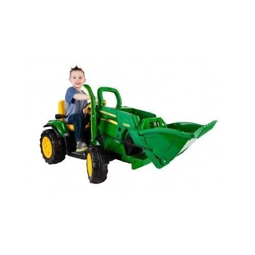 Old John Deere Power Wheels : Battery powered tractor for sale classifieds