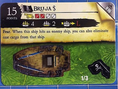 Pirates Savage Shores - Bruja 016 Pirate