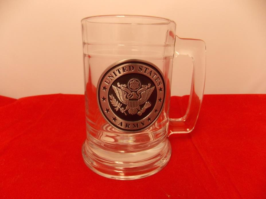 United States Army Beer Mug OFFICALL LICENSE  US ARMY NEW