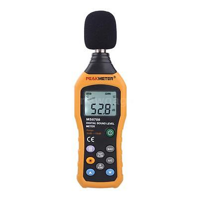 Digital Sound Pressure Tester Level Meter 30 to 130dB Decibel Noise Measure T6K3