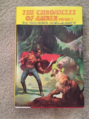The Chronicles of Amber Vol 1 Roger Zelazny 1972 Doubleday HCDJ