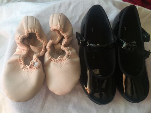 Toddler dance shoes Size 7