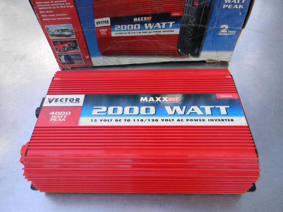 Vector Power Inverter 2000 wattt