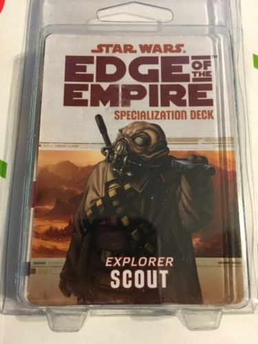 Star Wars: Edge Of The Empire Specialization Deck: Scout