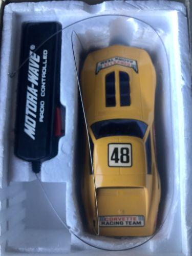 Vintage Motora-Wave Radio Controlled Stingray Corvette New 70's
