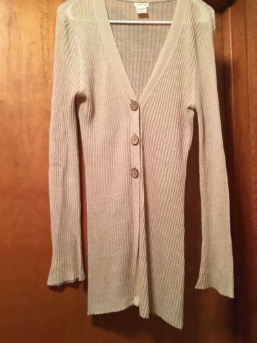 Maurice's Tan Sweater Cardigan Women's Size Large