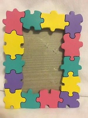 Kids Multi-Colored Tabletop Picture Frame 5