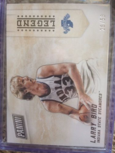 Larry Bird Boston Celtics Panini Legend #'d 26/50 Rare. 2015 Black Friday