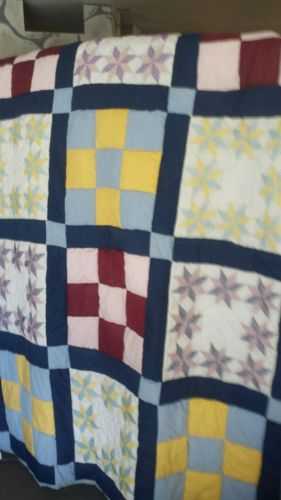 NEW Handmade Embroidered Quilt
