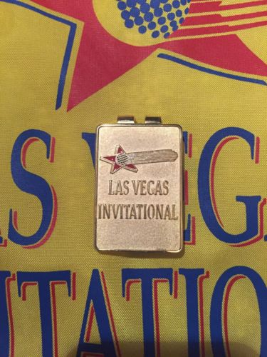 LAS VEGAS INVITATIONAL GOLF TOURNAMENT MONEY CLIP TIGER WOODS 1st WIN 1996