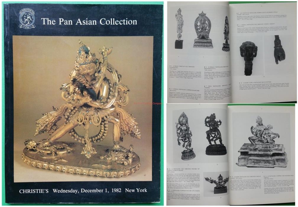 Christies NY 1982 catalog: Pan Asian Collection Himalayan Indian Southeast Asian