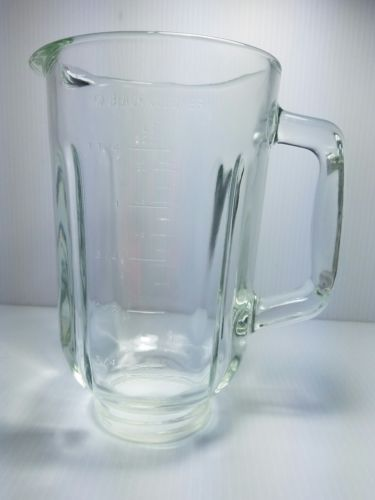 Black & Decker BL-1045OH Crush Master Blender 5 Cup 42 Oz Glass Jar Pitcher Only