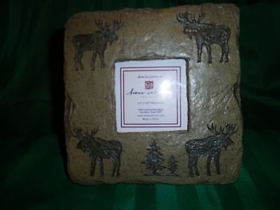 Home Interiors # 11162 Moose Picture Frame New in the box