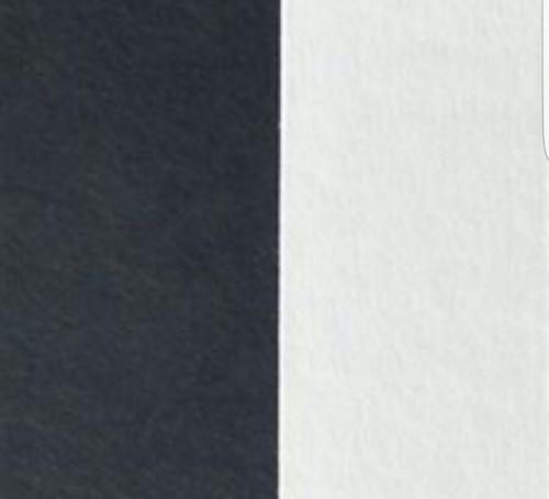 Dove white and ebony black Full Sheet Mat Board 25 Pack 32 x 40 Cream Core