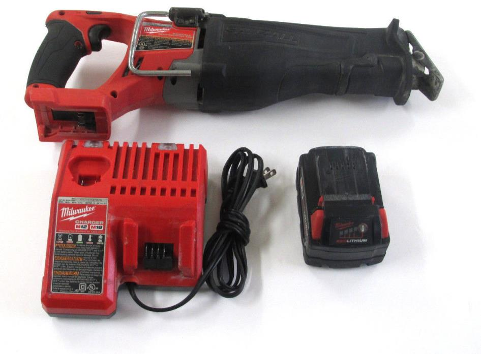Milwaukee 2720-20 M18 18V FUEL Brushless Cordless Reciprocating Sawzall Tool