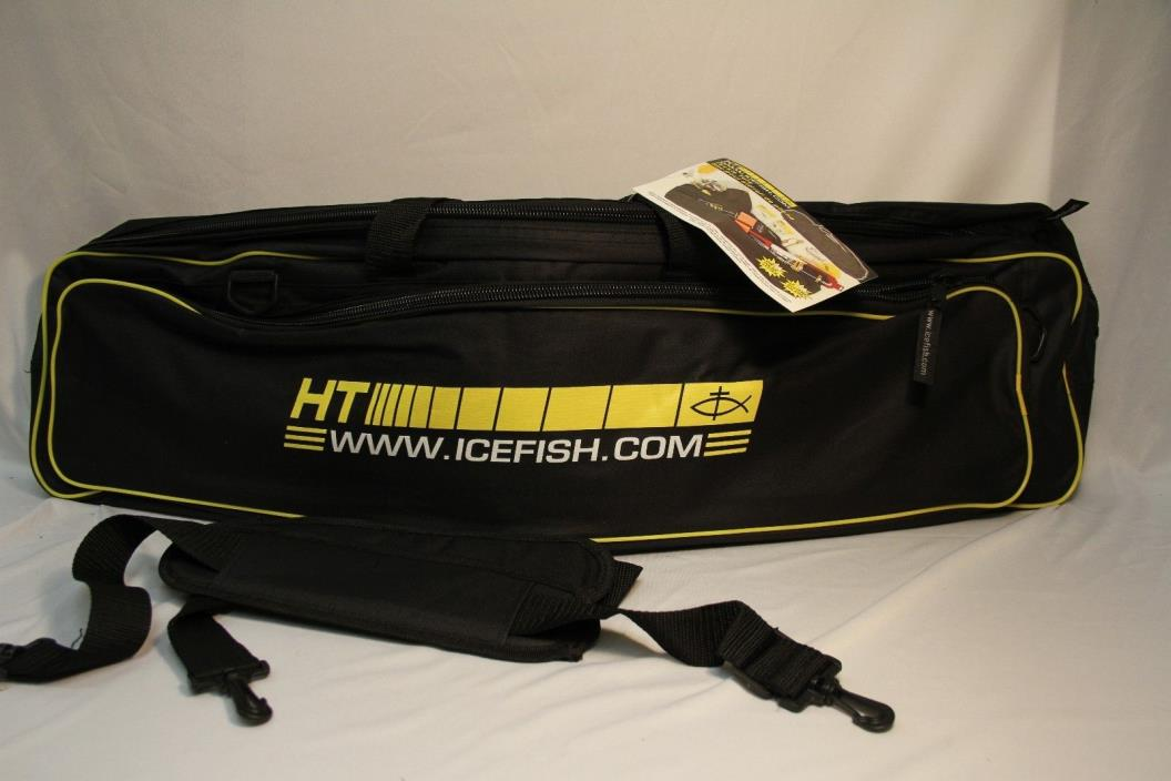 HT Ice Fishing Tackle Tote 3  Compartments Space For 34