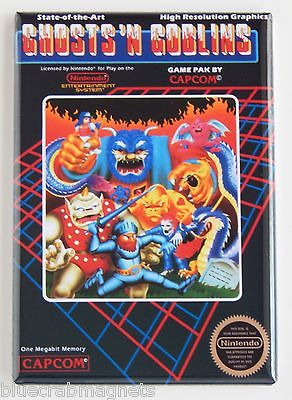 Ghosts N Goblins FRIDGE MAGNET (2 x 3 inches) arcade video game nes