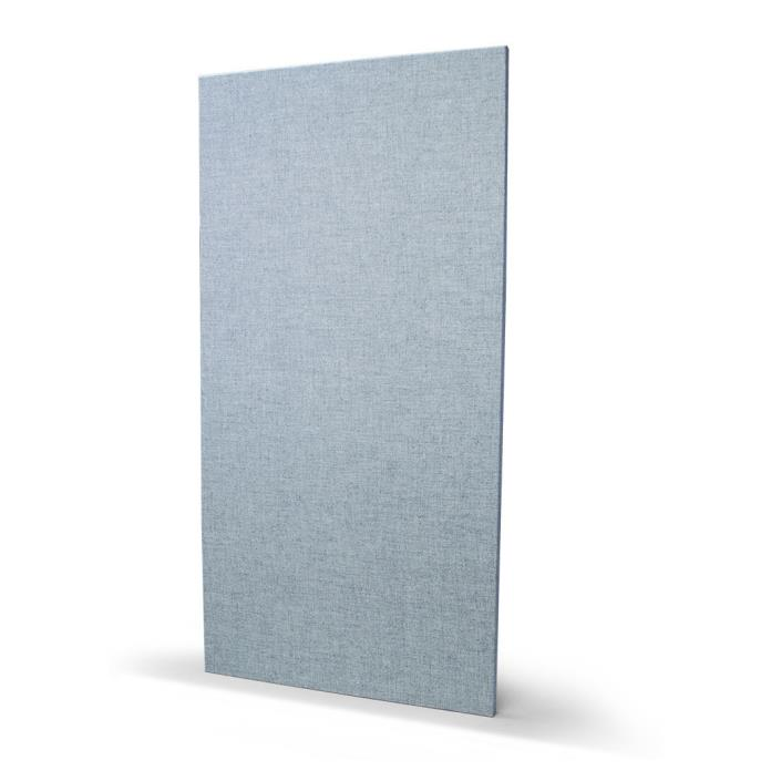 Lot of 10 - Gray Acoustical Fabric Covered Wall Panels, 1