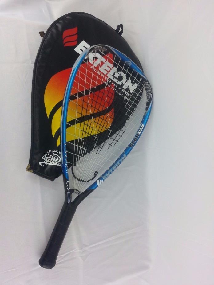 EKTELON Invader Ti Racquetball Racquet Oversize 925 F3 X-Small w/ Case