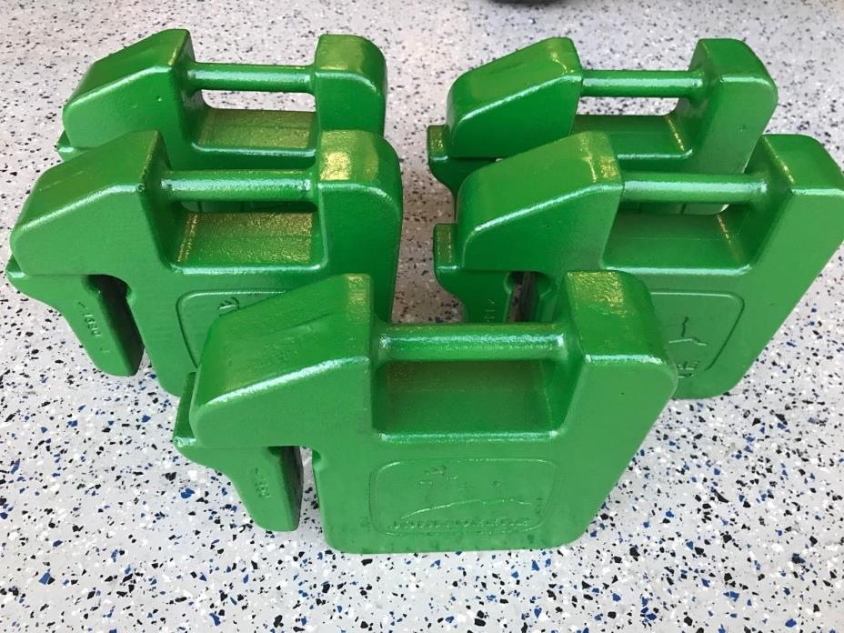 John Deere Tractor Counterweights : Tractor suitcase weights for sale classifieds