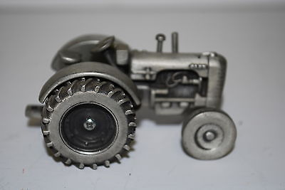 1/43 Case d series Pewter Tractor by Spec Cast very nice older toy