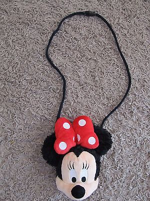 MINNIE MOUSE PLUSH DOLL PURSE TOY 6.5 INCHES *LN