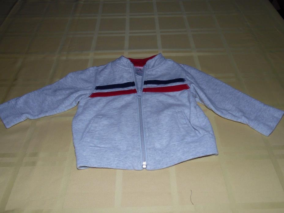Baby Boy Zip-Up Hoodie Size 6-12 Months By Old Navy