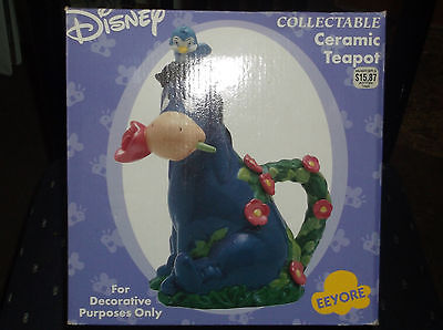 Eeyore ceramic teapot in box Walmart exclusive