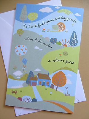 AMERICAN Greeting card Congratulations on your new home/house