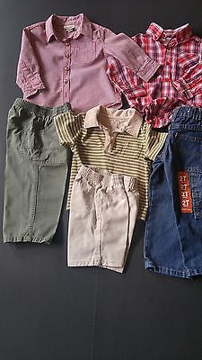 Toddler Boys Lot Size 18-24 Months 6 Pc