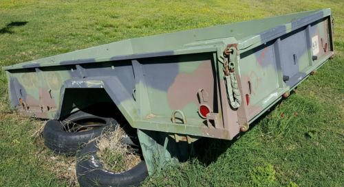 Military truck bed - 9 foot