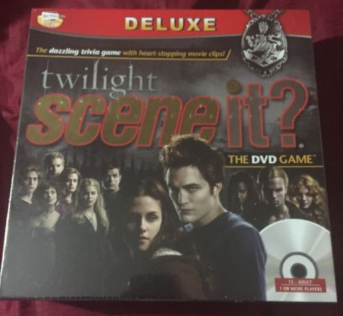 New Twilight Scene It? Deluxe The DVD Game Sealed