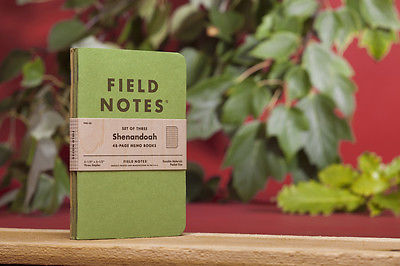 Pack of 3 Field Notes,