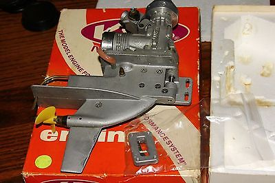 vintage rc k&b outboard 8701 7.5cc outboard engine r/c motor in box boat marine