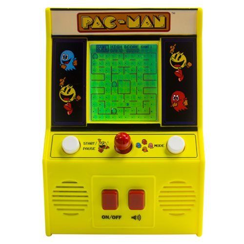Pac-Man Mini Arcade Game Pacman Machine Classic Game New in damage box