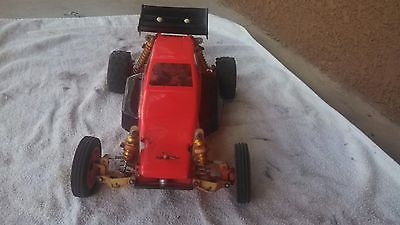 Team Associated RC-10 remote control car w graphite chassis