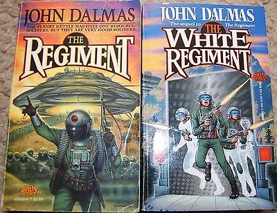 The Regiment and The White Regiment (1st Printing) by John Dalmas