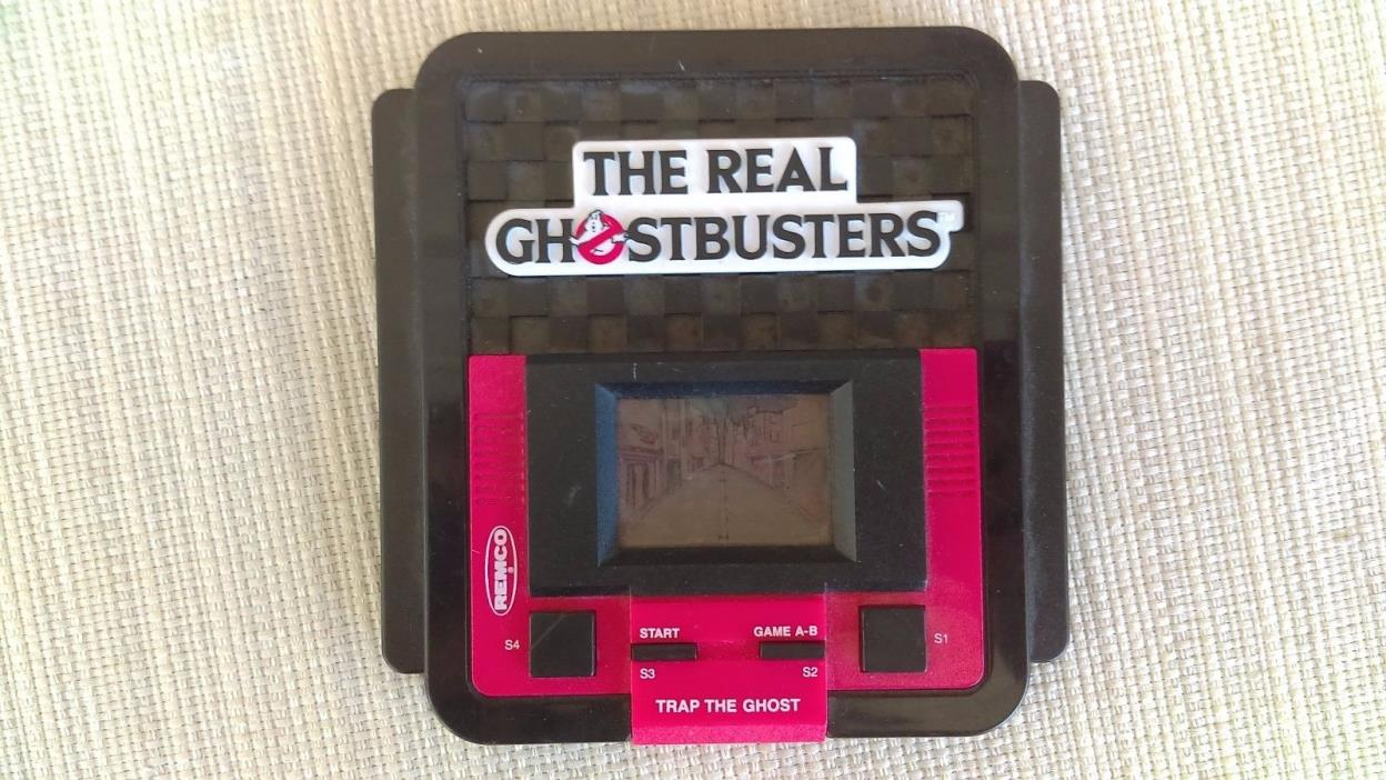 The Real Ghostbusters Trap The Ghost Handheld Video Game Remco Vintage 1988