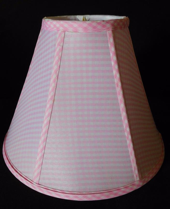 Pottery Barn Kids - Pink Gingham Lamp Shade