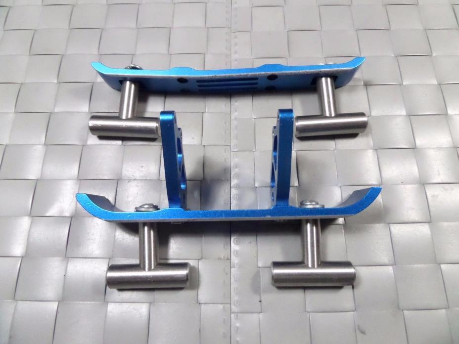 GPM aluminium custom heavy duty front/rear bumper Traxxas T-maxx rc car parts