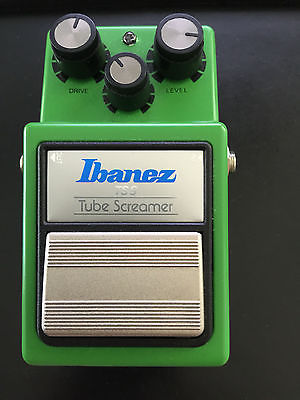 Ibanez TS9 Distortion Guitar Effect Pedal Tube Screamer