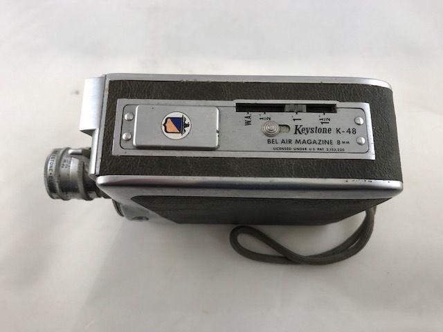 Vintage Keystone 8mm Movie Camera K-48 Bel Air